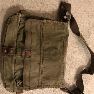 America eagle green messenger bag